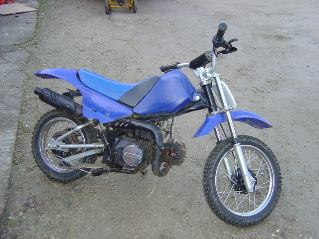 Pit Bike 80cc Motor Bike Breaking RHS