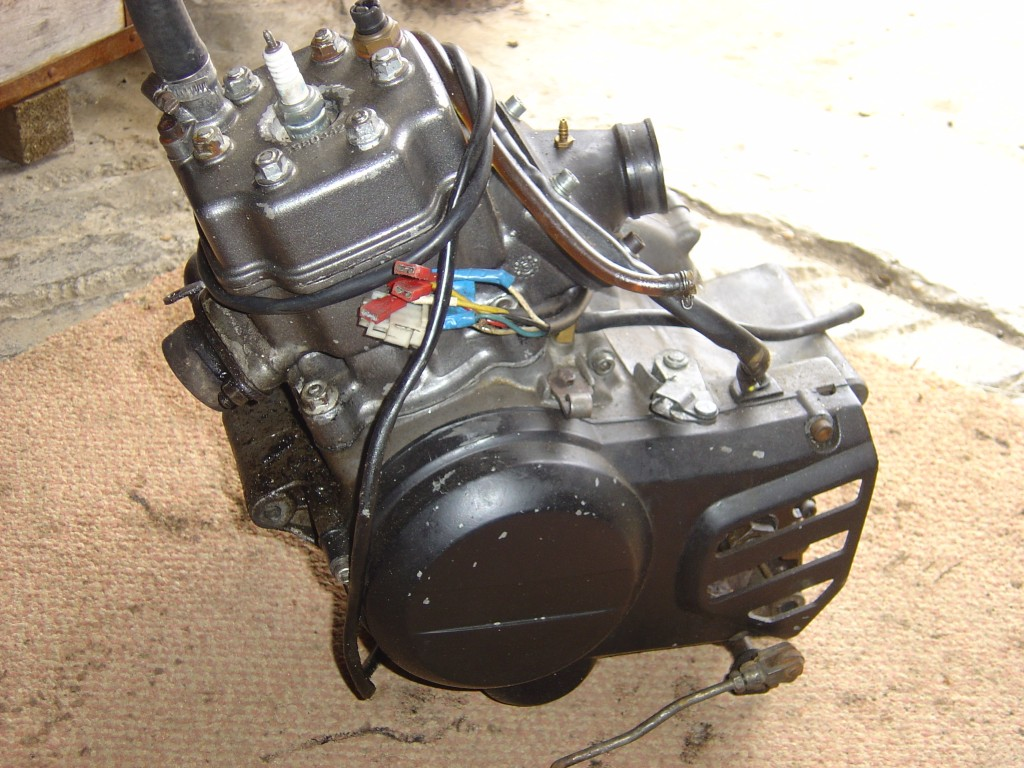 Gilera AR125 Engine LHS Motor Cycle Breaking for spare parts