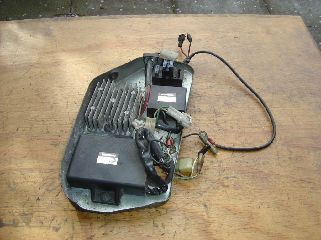 Gilera RC600 1989 to 1993 CDI Unit Regulator Motor Cycle Breaking for spare parts