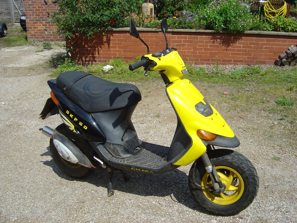 Gilera Skipper 50cc Scooter Breaking for Spare Parts