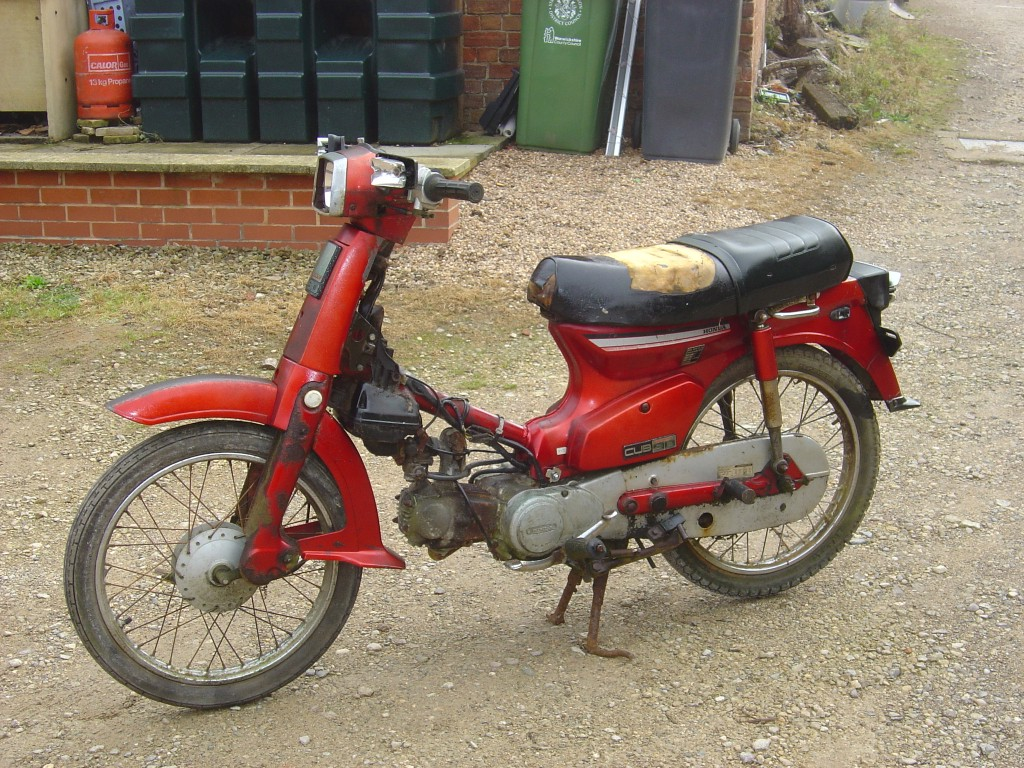 Honda C90 Cub Breaking for Spare Parts