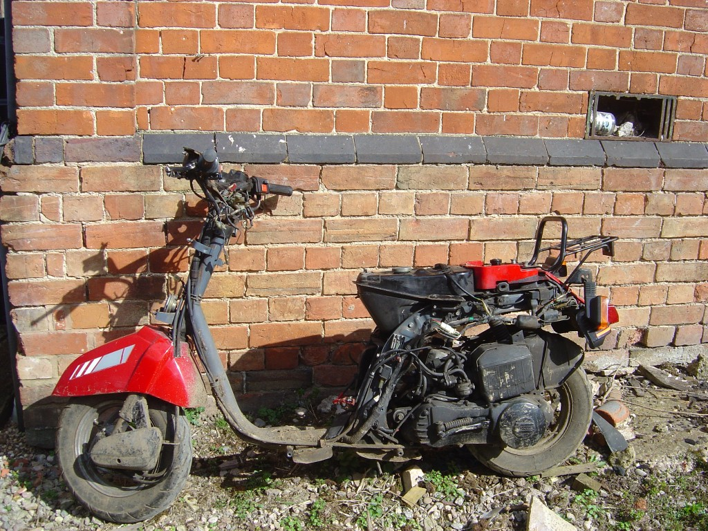 Honda DX80 LHS Motor Cycle Breaking for spare parts