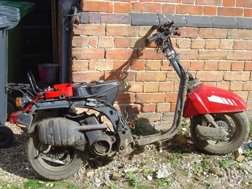 Honda DX80 RHS Motor Cycle Breaking for spare parts