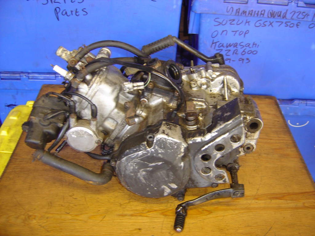 Yamaha DTR125 Engine 1990 to 2000 LHS Motor Cycle Breaking for spare parts