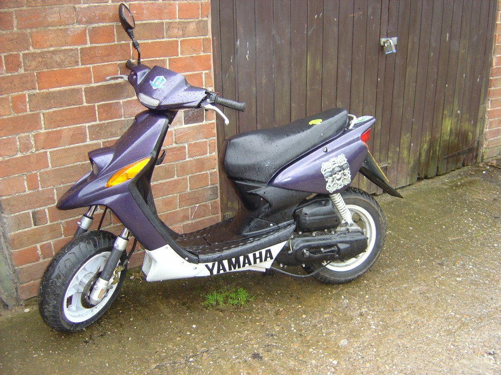 Yamaha MBK 50cc Scooter Breaking for Spare Parts