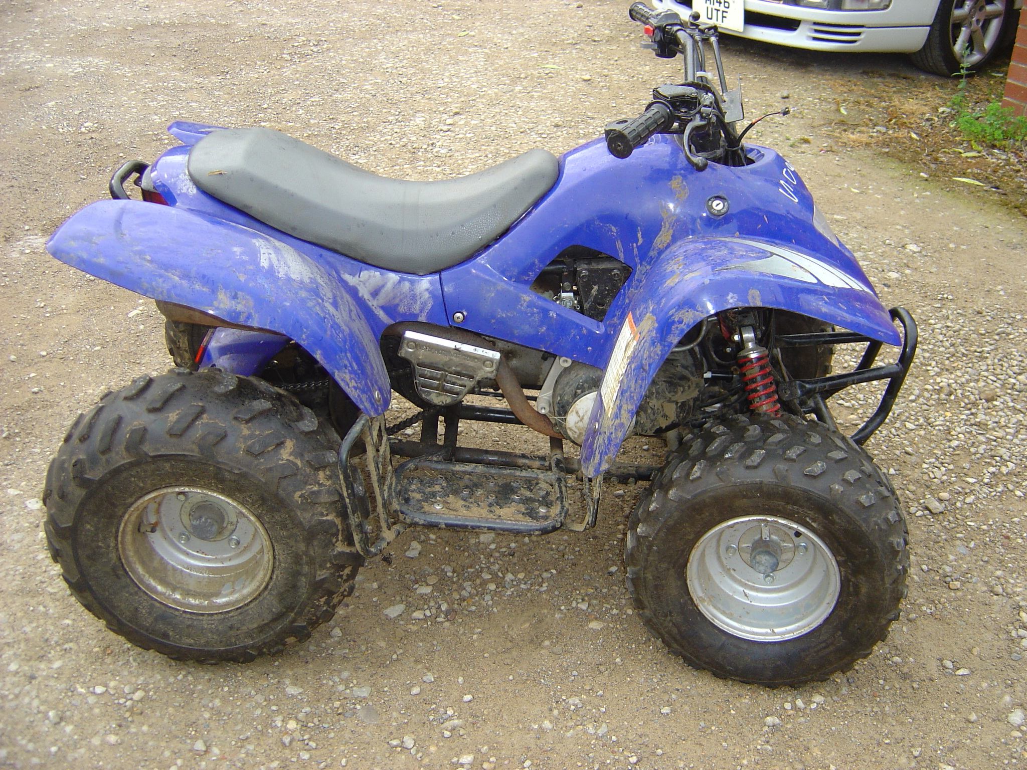Parts Of A Atv : Quad motor bikes breaking for spares including apache