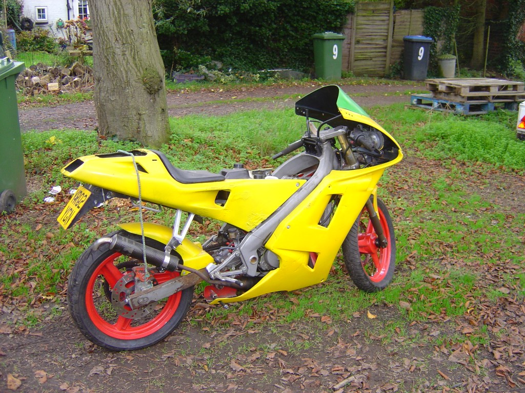 Derbi GPR 50 RHS Motor Cycle Breaking for spare parts