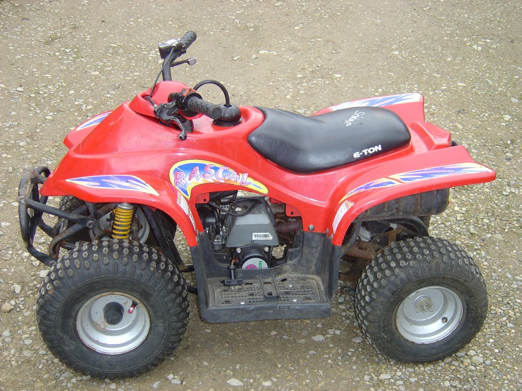 Eton-Rascal-50-Quad-Bike-Breaking-for-Spare-Parts-Left-Hand-Side