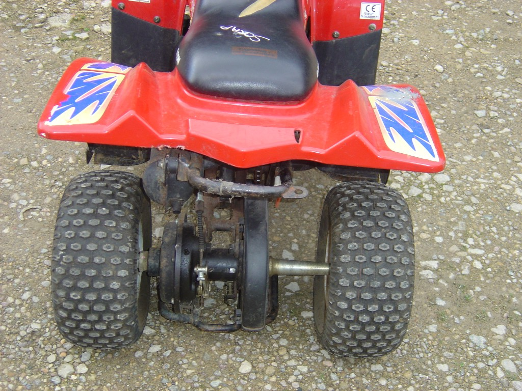 Eton-Rascal-50-Quad-Bike-Breaking-for-Spare-Parts-Rear