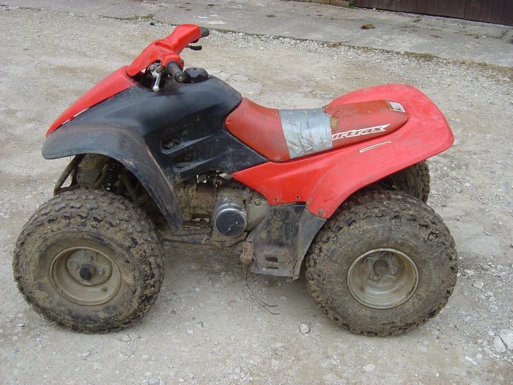 Honda-TRX-90-Quad-Honda-90-Quad-Bike-Breaking-for-Spare-Parts-Left-Hand-Side