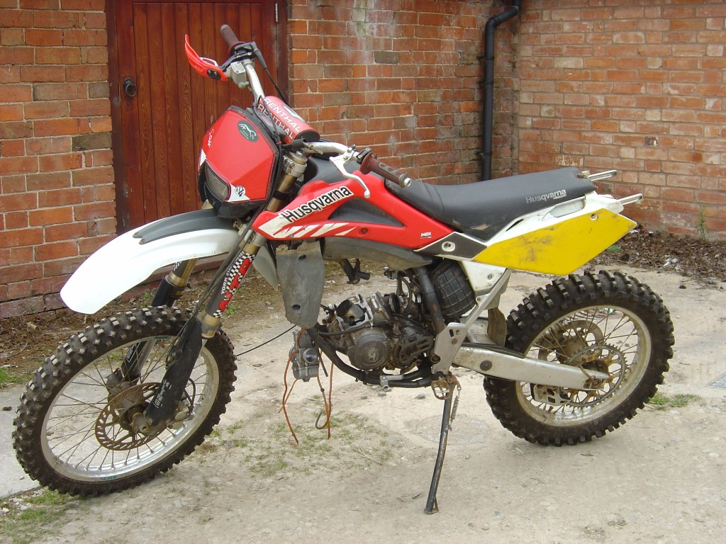 Husqvarna 125 Motor Bike Breaking for Spare Parts Left Hand Side