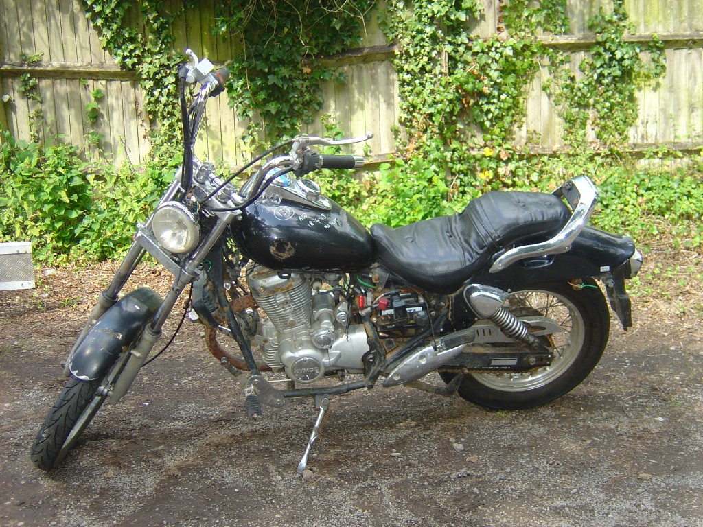 Kymco 125 LHS Motor Cycle Breaking for spare parts