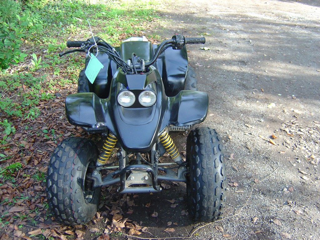 Quadzilla Ram 100 Quadbike Front Motor Cycle Quad Bike Breaking for spare parts
