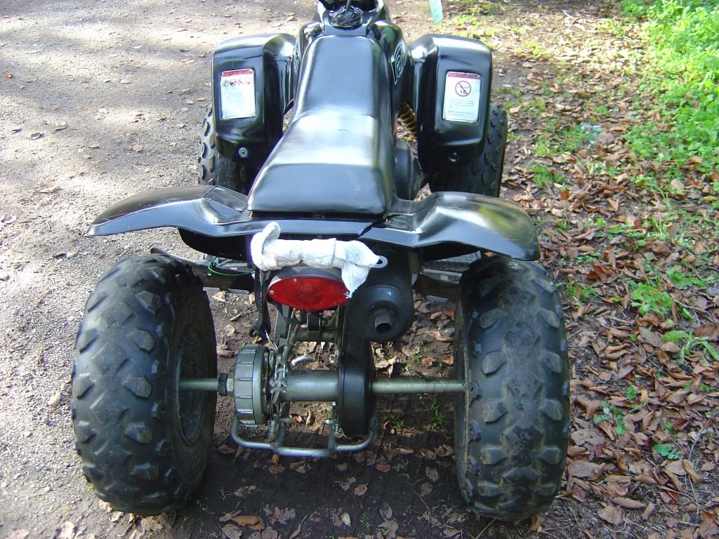 Quadzilla Ram 100 Quadbike Rear Motor Cycle Quad Bike Breaking for spare parts