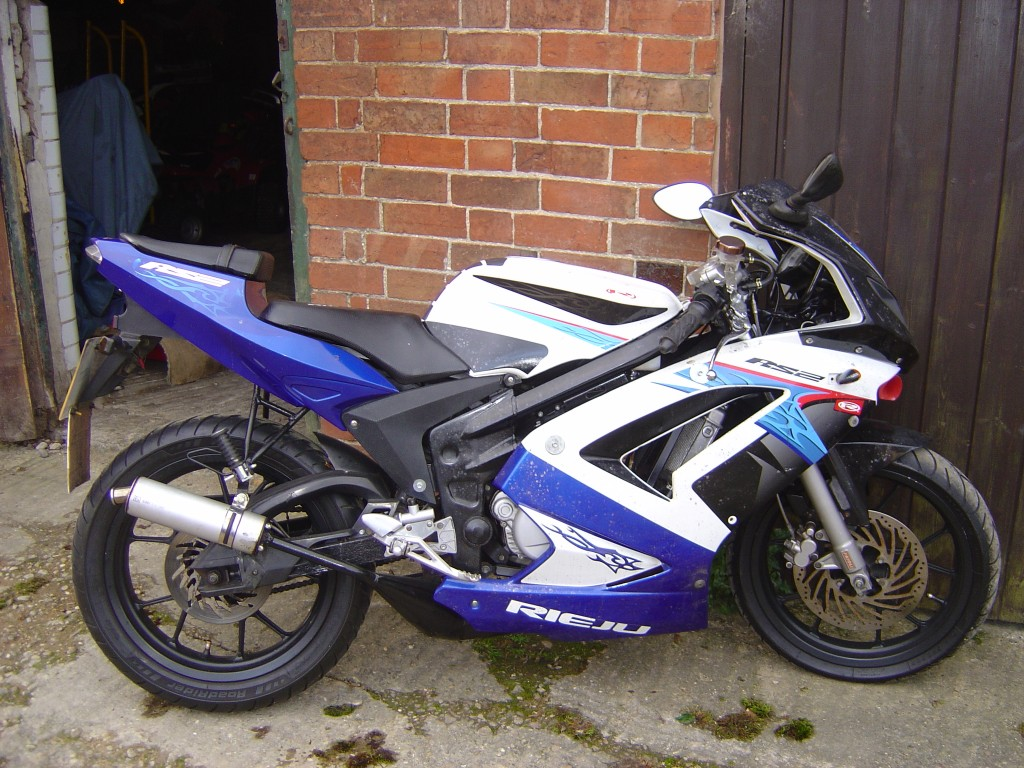 Rieju RS2 50 RHS Motor Cycle Breaking for spare parts