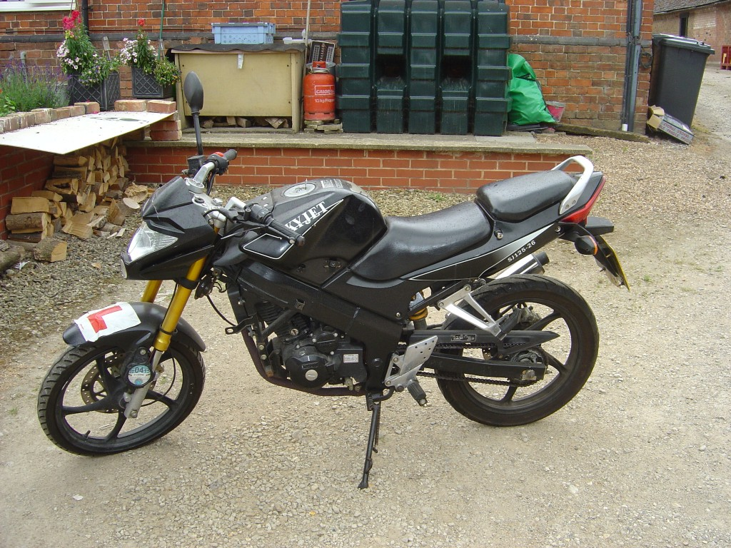 SKYJET 125 SJ3 LHS Motor Cycle Breaking for spare parts