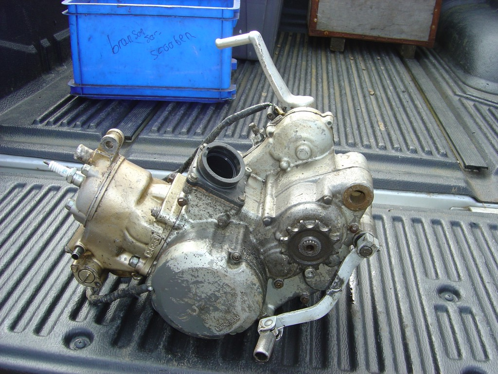 Suzuki RM125 Engine LHS Motor Cycle Breaking for spare parts