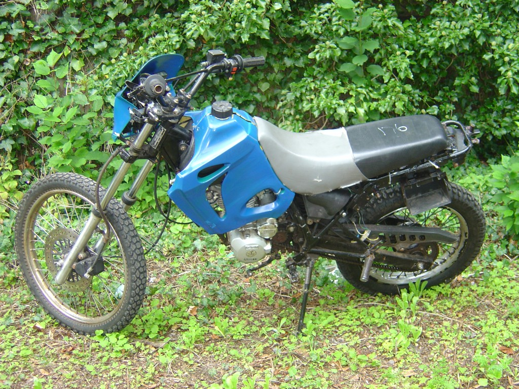 Umbra 125 LHS Motor Cycle Breaking for spare parts